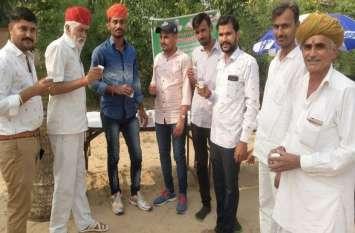 मौखातरा में ग्रामीणों ने मनाई खुशियां