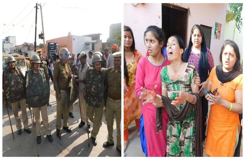 निकाय चुनाव परिणाम से पहले राजस्थान में यहां हुई लाठी-भाटा जंग, कई जने घायल, छावनी में बदला इलाका