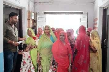 जसवंतपुरा में महिलाएं इसलिए हुई उग्र और दी आंदोलन की चेतावनी