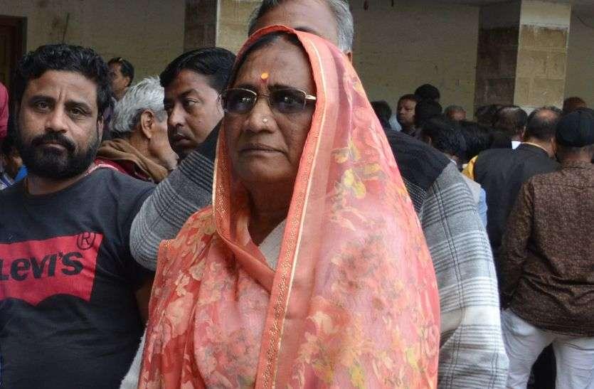 पांच बार चुनाव जीत चुकी सभापति कमला दगदी को पहले पत्नी ने तो अब की बार पति ने हराया