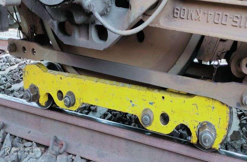VIDEO मुंबई-दिल्ली ट्रैक पर इंजन का व्हील जाम, 3 घंटे तक रूट बंद