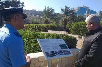 हाइफा हीरो को नमन, मंत्री शेखावत ने इजरायल में कुछ ऐसे याद किया शहीदों को