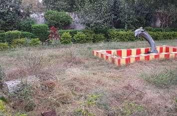 कुछ पार्कों में जनता के लिए ताला तो कुछ सिर्फ औपचारिकता के पार्क