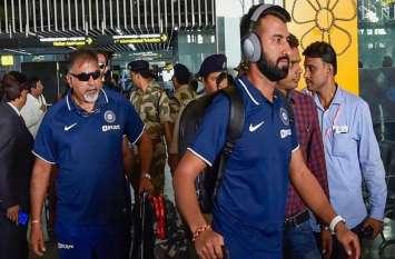 डे नाइट टेस्ट के लिए कोलकाता पहुंची भारत और बांग्लादेश की टीमें