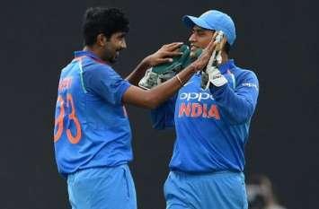 विंडीज के खिलाफ भी बुमराह नहीं करेंगे वापसी, धोनी पर सस्पेंस