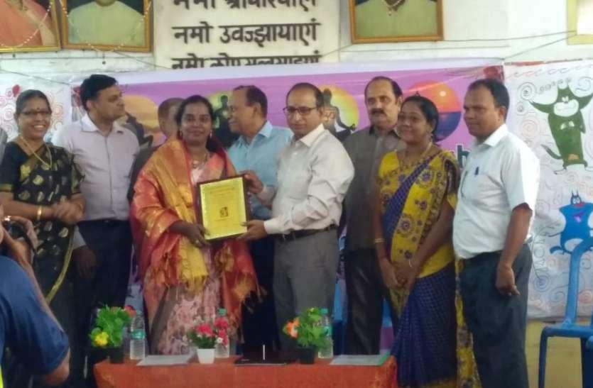Tamilnadu:  श्यामला चन्द्रमोहन को सर्वश्रेष्ठ प्रधानाध्यापिका पुरस्कार
