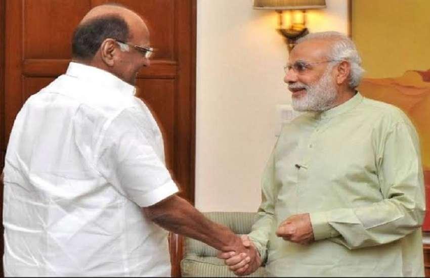 पीएम मोदी से मिले NCP प्रमुख, शरद पवार हो सकते हैं देश के अगले राष्ट्रपति!