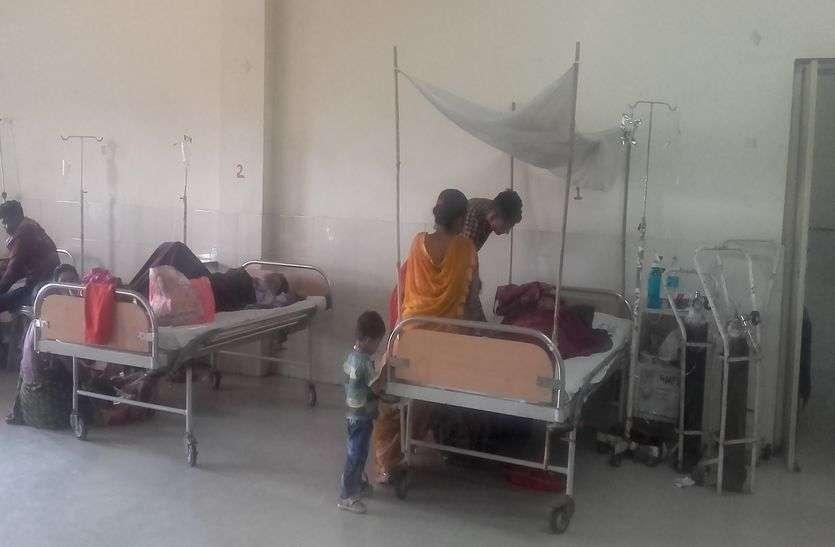 डेंगू पॉजीटव: जयपुर का दबाव झेल रहा अजमेर!