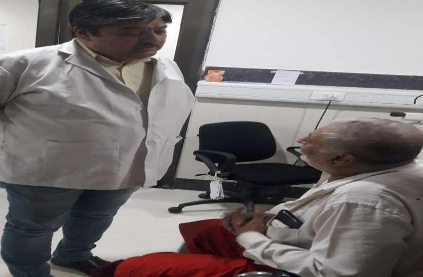Ahmedabad Eye hospital: मधुमेह से खोई आंखों की रोशनी लौटाई
