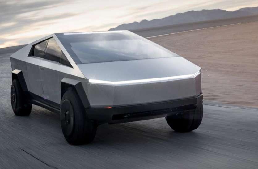 Tesla ने लॉन्च की इलेक्ट्रिक पिकअप Cybertruck
