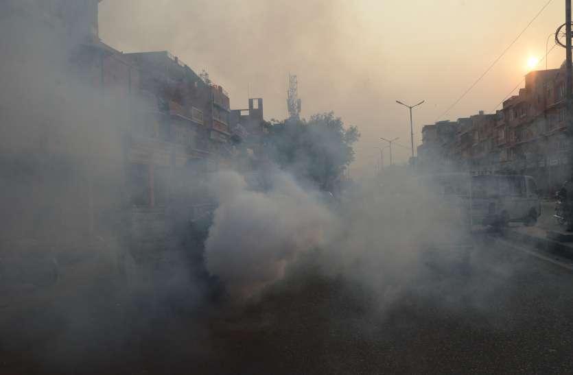 जयपुर में क्यों छिड़का जा रहा  है Sodium Hypochlorite, जानिए