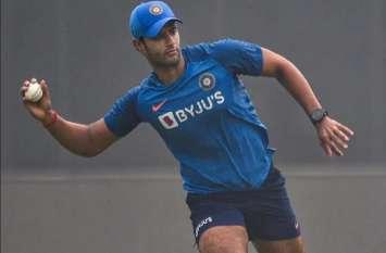 टीम इंडिया के लिए हाल ही डेब्यू करने वाले इस खिलाड़ी ने लगाई छक्कों की हैट्रिक