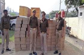 आलू के साथ हो रही थी अवैध शराब की तस्करी, पुलिस ने जब्त की 27 लाख की शराब