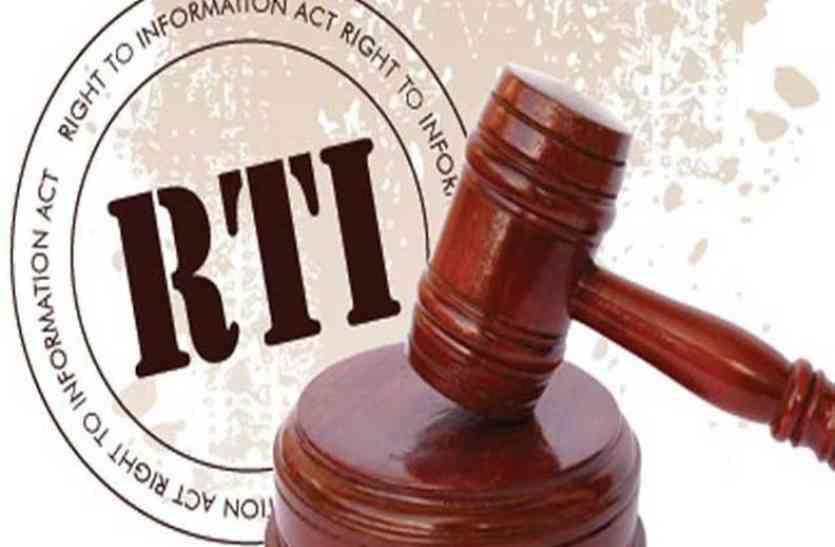 राज्य सूचना आयोग ने आरटीआई की अवहेलना पर दिखाया आइना, दो रुपए नकद लेने के बदले बैंक भेजने पर लगा दो हजार का जुर्माना