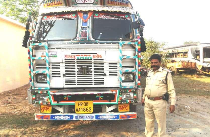 हरियाणा के बल्लभगढ़ अनाज मंडी में मिला ट्रक, चालक ने कर दी थी ये चालाकी...