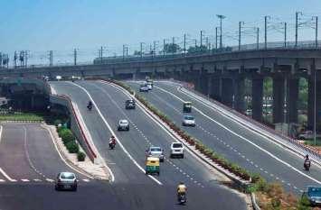 मुंबई दिल्लीएक्सप्रेस-वे पर जल्द फर्राटे भरेगी कारें
