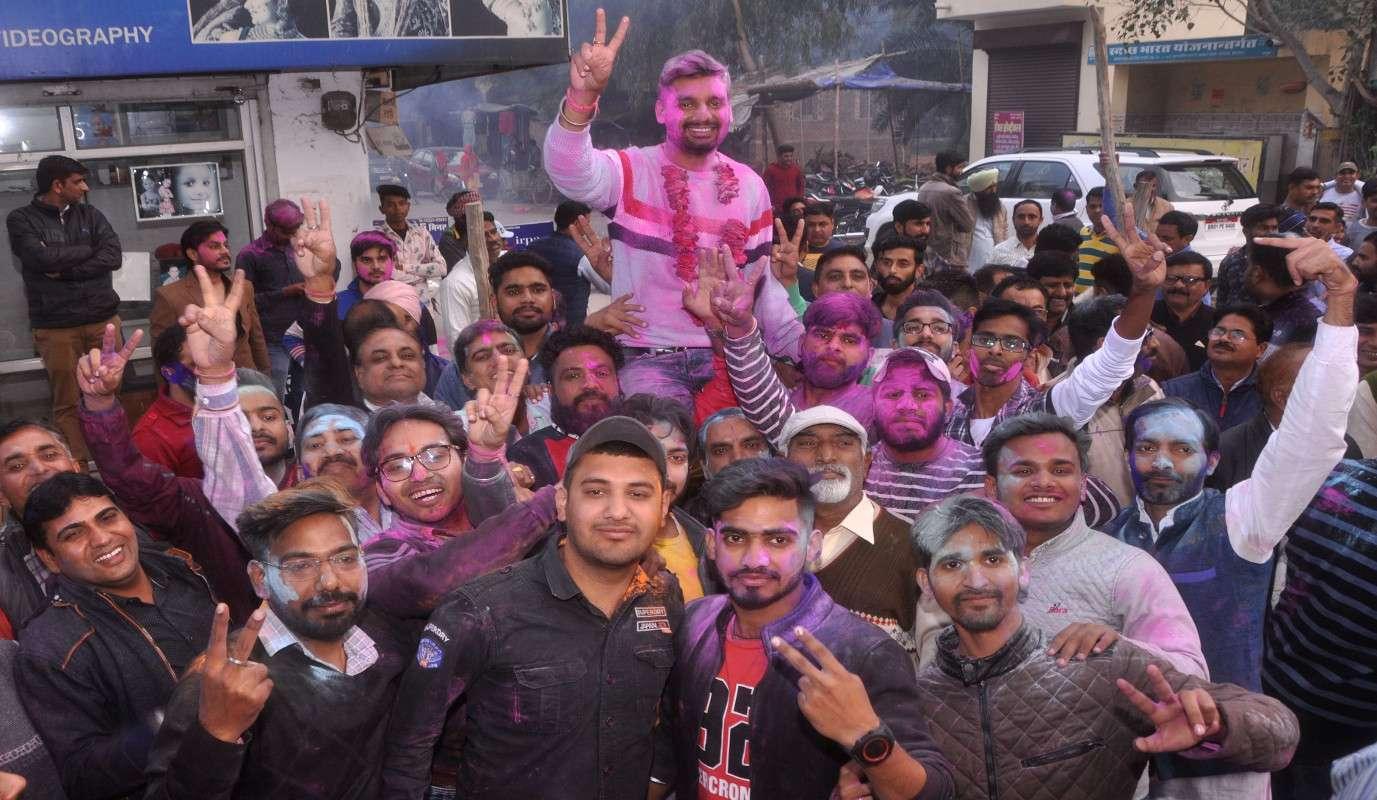 श्रीगंगानगर.चौबीस घंटे में भाजपा खेमा बिखरा, कांग्रेस समर्थित मनचंदा उपसभापति निर्वाचित.....देखें खास तस्वीरें