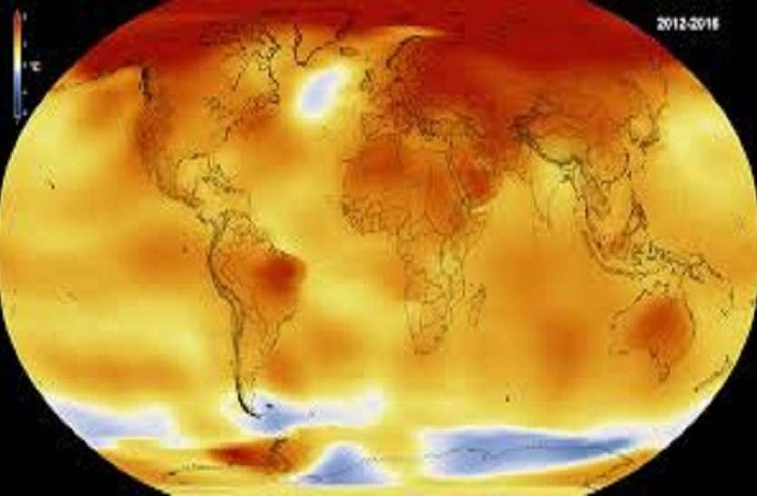 और गर्म होगी पृथ्वी, 2021 तक 3.2 डिग्री सेल्सियस बढ़ेगा औसत पारा