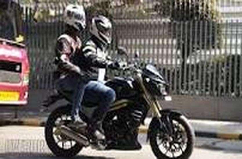 बीकानेर : बिना हेलमेट बाइक चलाई तो लाइसेंस निलंबित