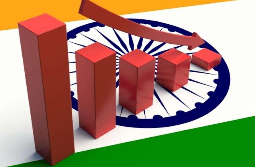 आर्थिक मोर्चे पर मोदी सरकार को बड़ा झटका, इंडिया रेटिंगस ने जीडीपी दर अनुमान घटाई