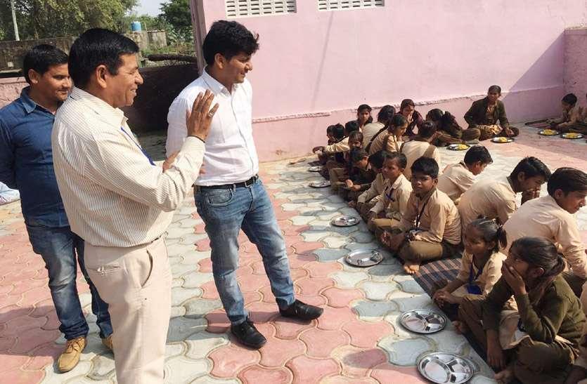 उपखण्ड अधिकारी ने निरीक्षण कर विद्यार्थियों की शैक्षणिक गुणवत्ता की जांची