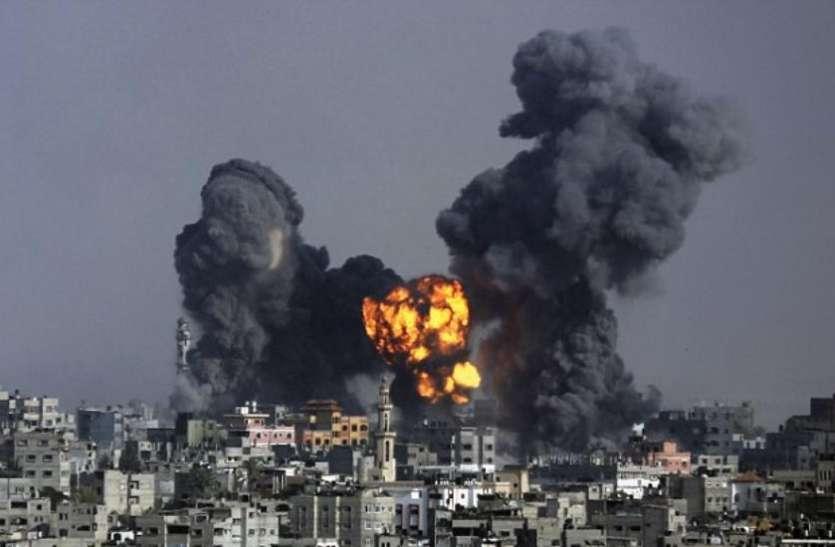 इजराइल ने हमास के ठिकाने पर किया हवाई हमला, नेतन्याहू ने सख्ती से जवाब देने की चेतावनी दी