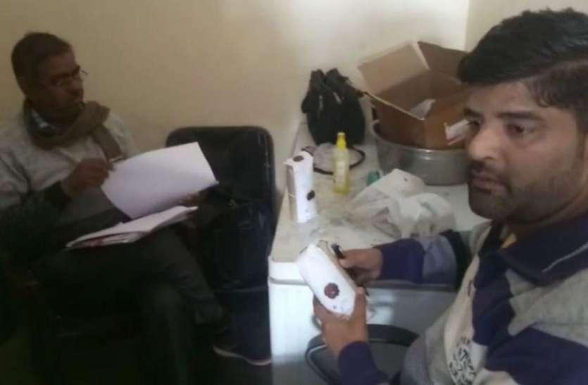 सादुलशहर में स्वास्थ्य विभाग ने दूध-घी के लिए सैम्पल