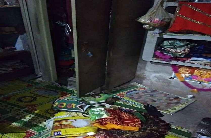 चोर महिला को चारपाई से बांध और मुंह में कपड़ा ठूंस ले गए लाखों के जेवरात