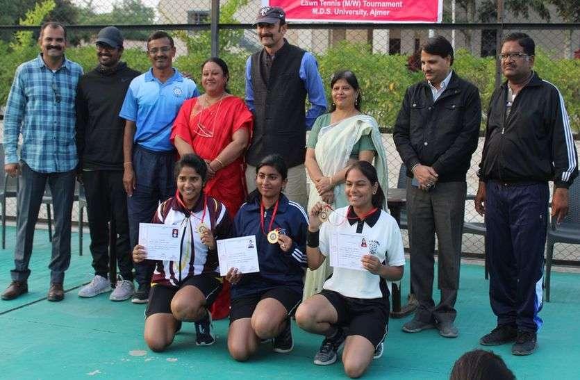 रीजनल ने महिला और डीएवी ने पुरूष वर्ग का खिताब जीता
