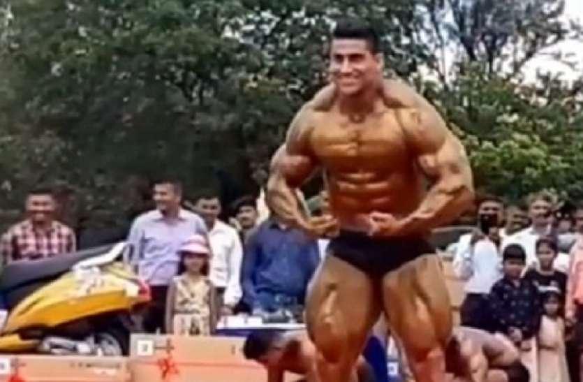 Meerut: यह हैं भारतीय सेना के जवान, विश्व बॉडी बिल्डिंग चैंपियनशिप में जीता है गोल्ड