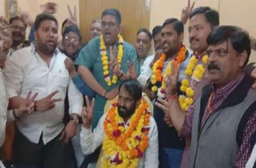 एक दिन बाद अलवर में भाजपा ने पलटी बाजी, भिवाड़ी व थानागाजी में कांग्रेस जीती