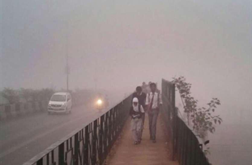 मौसम का असर हवा की सेहत पर, पड़ा कोहरा तो बढ़ा प्रदूषण, मौसम विभाग ने जारी किया अलर्ट
