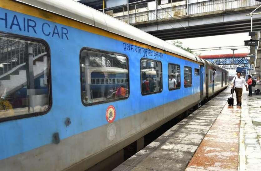 झांसी-आगरा ट्रैक पर बढ़ेगी गतिमान और शताब्दी की स्पीड, ट्रायल सफल
