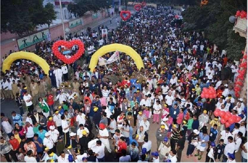दो दर्जन देशों के धावक जुटेंगे कोटा नगरी में,वॉक ओ रन में एक साथ दौड़ेंगे 25 हजार