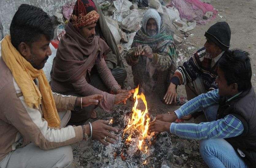 राजस्थान में हाड़ कंपाने वाली सर्दी का सितम, ठंड़ से जमा फतेहपुर, पारा पहुंच गया इतना