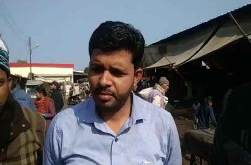 कीचड़ व पानी ने प्रभावित हुआ मंडी व्यापारियों का कारोबार, देखें Video