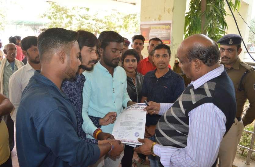 घर वापसी की मांग को लेकर प्रधानमंत्री के नाम सौंपा ज्ञापन