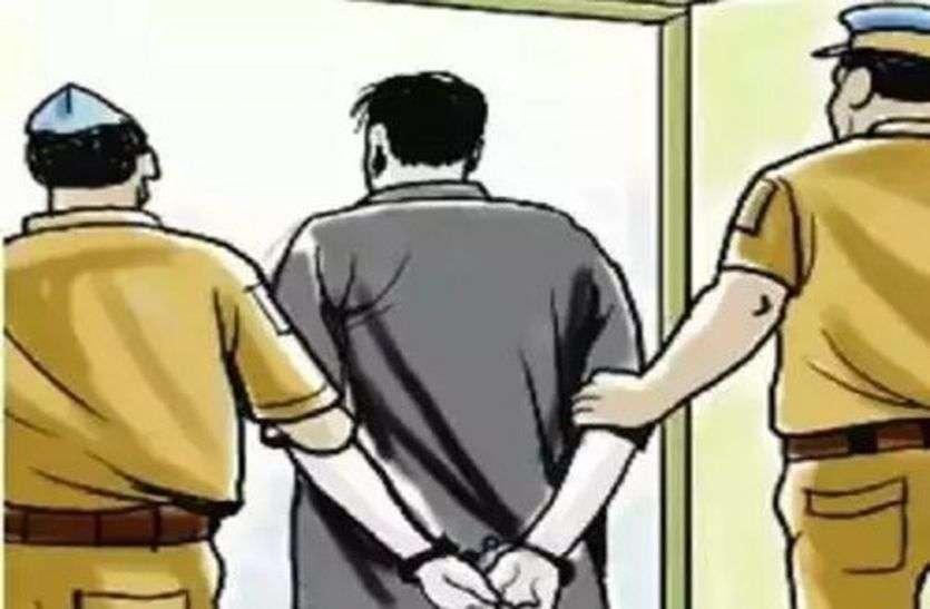 महिला का अपहरण कर गैंगरेप करने वाले तीन आरोपी यूपी से गिरफ्तार