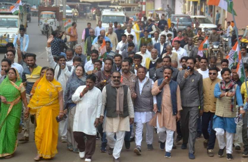 कांग्रेस: केंद्र कर रही भेदभाव तो भाजपा बोली: सम्मान निधि व एक हजार करोड़ का दें हिसाब