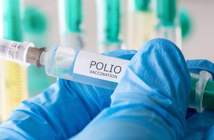 जोधपुर संभाग सहित प्रदेश के कई जिलों में 20 दिन से पोलियो का टीका खत्म