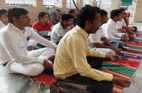 Ahmedabad News : युवकों ने किए प्रेक्षाध्यान के प्रयोग