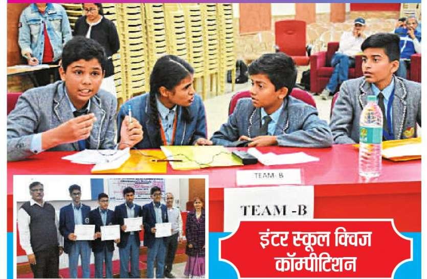 विजेता टीम के प्रतिभागियों को प्रमाण पत्र वितरित किए