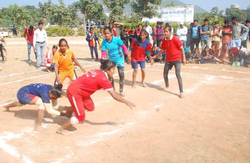 कस्तूरबा गांधी बालिका आवासीय विद्यालयों की राज्य स्तरीय खेलकूद प्रतियोगिता में खिलाडिय़ों ने दिखाया दम