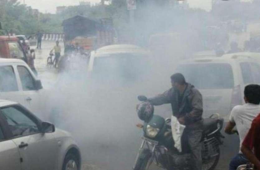 वायु प्रदूषण की चपेट में आ रहा श्रीगंगानगर शहर, जांच में सामान्य से तीन गुना मिला वायु प्रदूषण