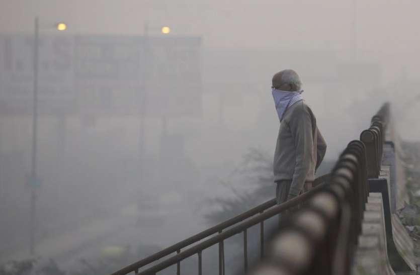 दिल्ली की 'बीमार हवा' बारिश के बाद हुई और बेकार, सुधरने की नहीं कोई गुंजाइश
