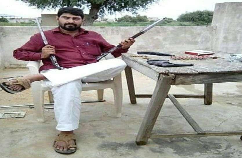 राजस्थान पुलिस में दम है तो मुझे गिरफ्तार करके दिखाए