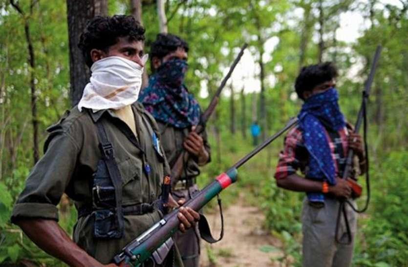 बीजापुर के गंगलूर में पुलिस कैंप के विरोध में नक्सलियों ने 9 किमी लंबी सड़क के कर दिए 30 टुकड़े