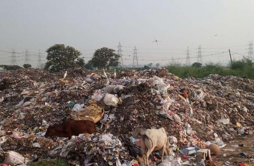 सांसों पर मुसीबत बनी दूषित हवा : कचरा प्लांट की बदबू बनी मुसीबत, निस्तारण व्यवस्था विफल