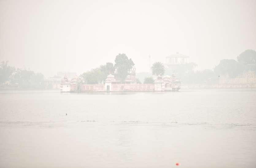 Weather News : कोहरे से लिपटी रही सुबह, यहां का तापमान गिरकर 6.3 डिग्री पर पहुंचा, राजस्थान में सर्दी बढ़ी