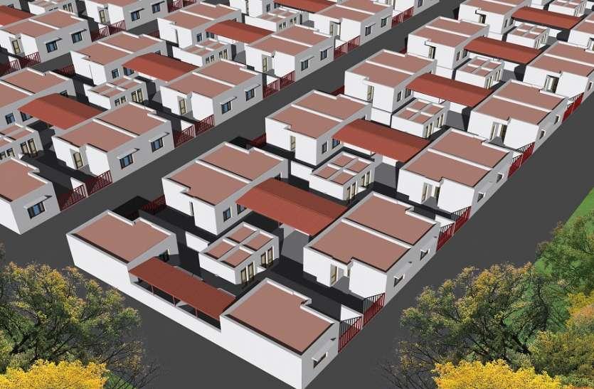 ...अब गांवों में ही बनेंगे शहरों जैसे घर